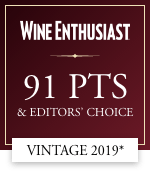 wine enthusiast 91 points and editors' choice vintage 2019