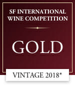 sf international wine competition gold vintage* 2018