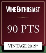 wine enthusiast 90 points vintage 2019
